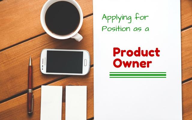 Agile Product Owner Job Description