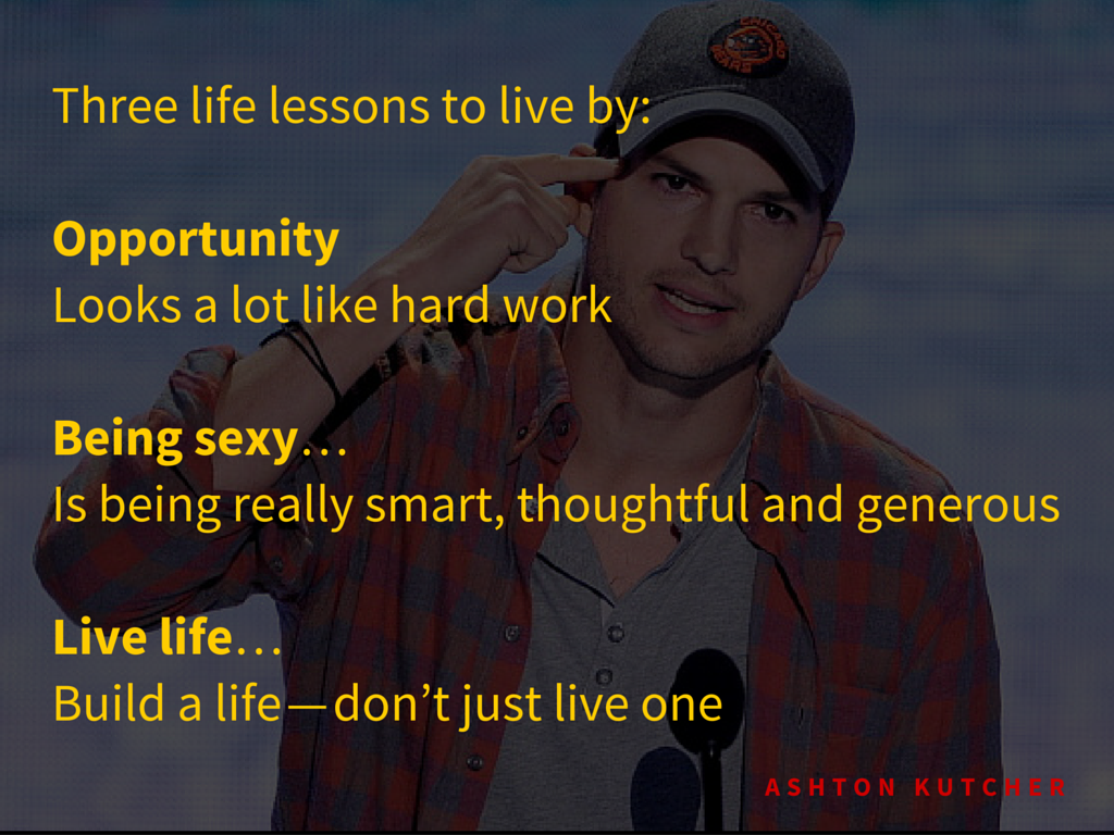 Three life lessons to live by