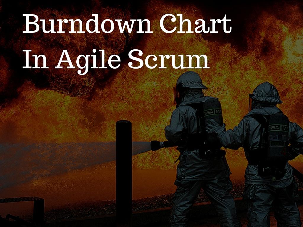 understanding burndown chart in agile scrum methodology