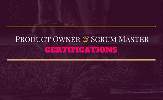 Scrum Master and Product Owner Certifications Exam, Cost and ...