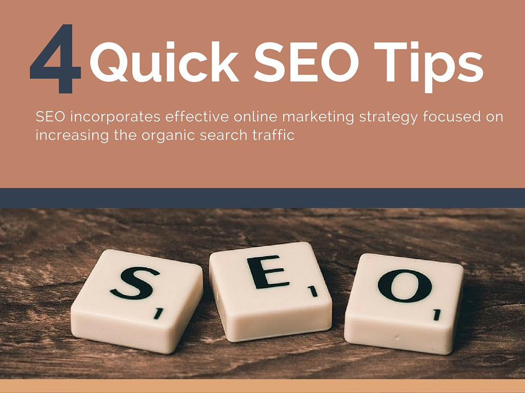 4 Quick SEO tips guide to improve website traffic