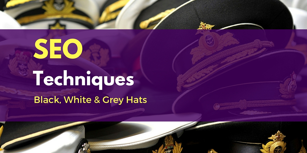 Black Hat, White Hat and Grey Hat SEO Techniques and Tricks