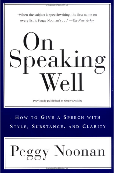 how to write speaking in a book