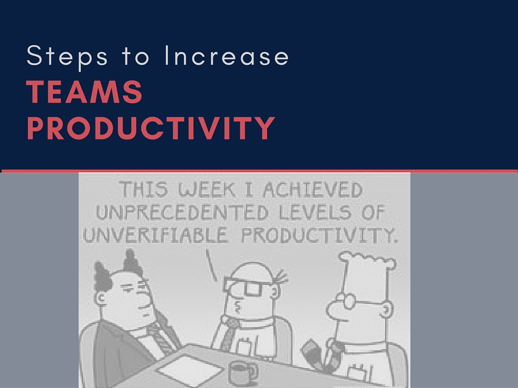 simple steps to increase team productivity at work  u2013 yodiz