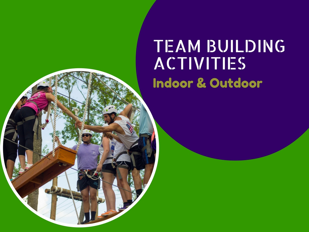Top 12 team building activities indoor and outdoor