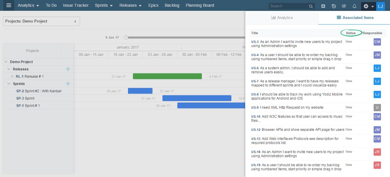 Project-Roadmap-Status-Add